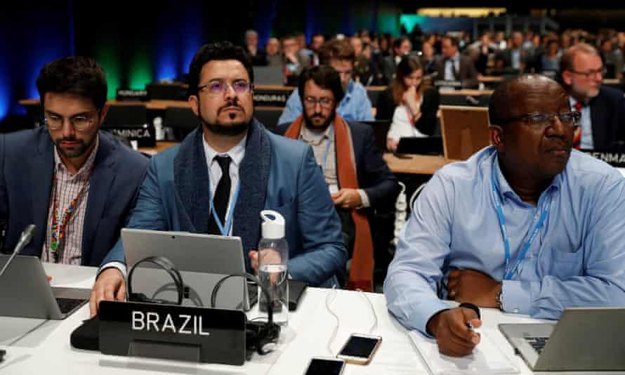 Brazilian man at desk