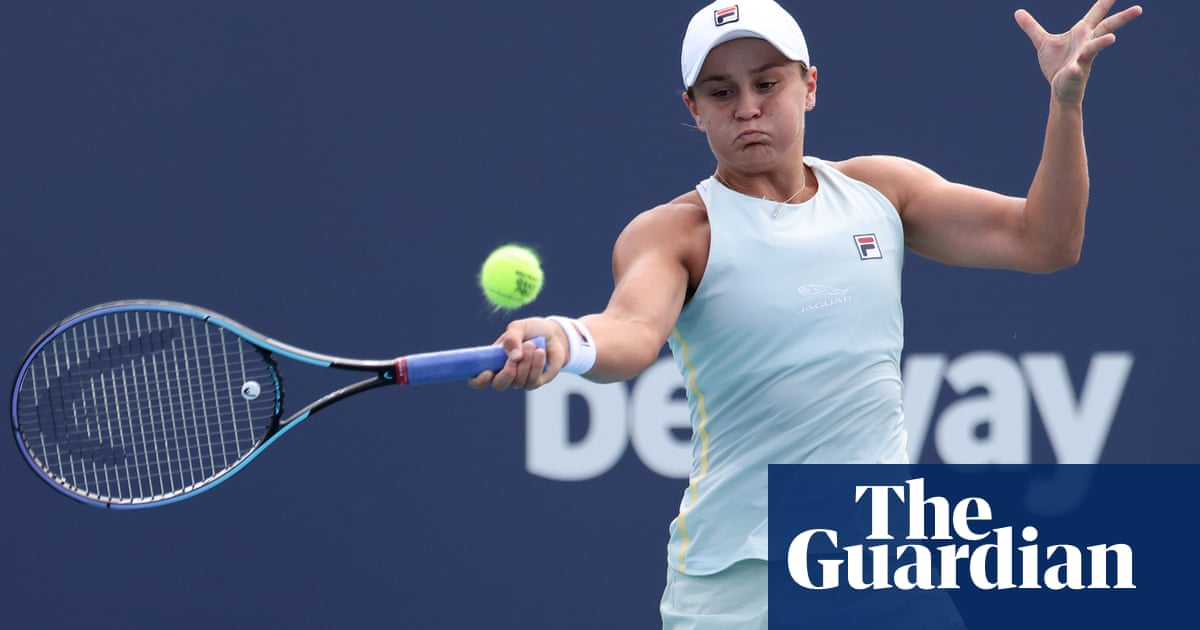'We'll go with the flow': Ashleigh Barty returns to life on tour