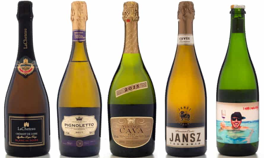 sparkling and fizz