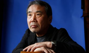 A nose ahead of the field ... Haruki Murakami.