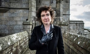 'Unexpected fun': Jeanette Winterson photographed at Pendennis Castle in Cornwall