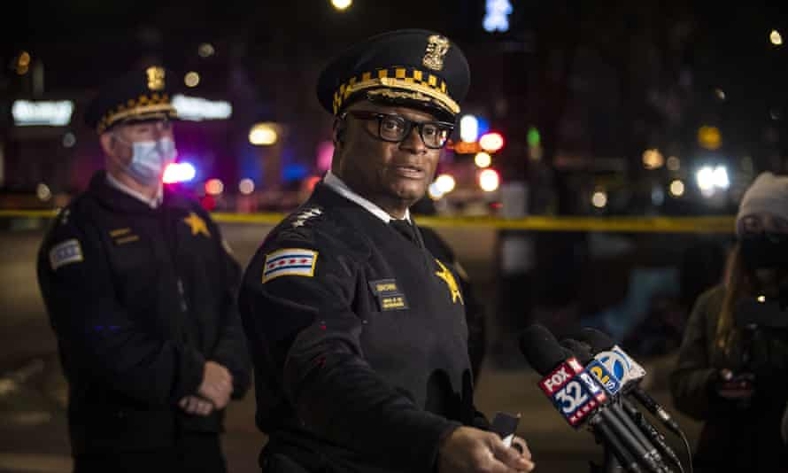 Chicago police chief, David Brown, said he wanted to view body camera video of the incident in which Adam Toldeo, 13, was shot dead buy officers.