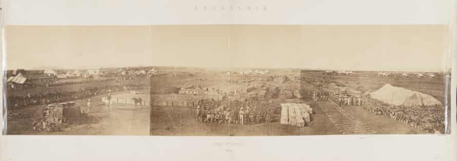 Camp at Zoola, Abyssinia expedition 1868-9