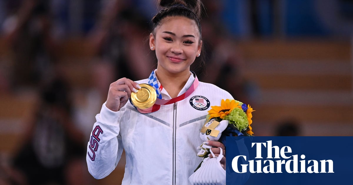 Sunisa Lee steps up in Biles's absence to win Olympic women's gymnastics all-around