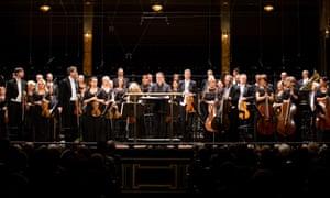 The MAV orchestra performing before the coronavirus lockdown.