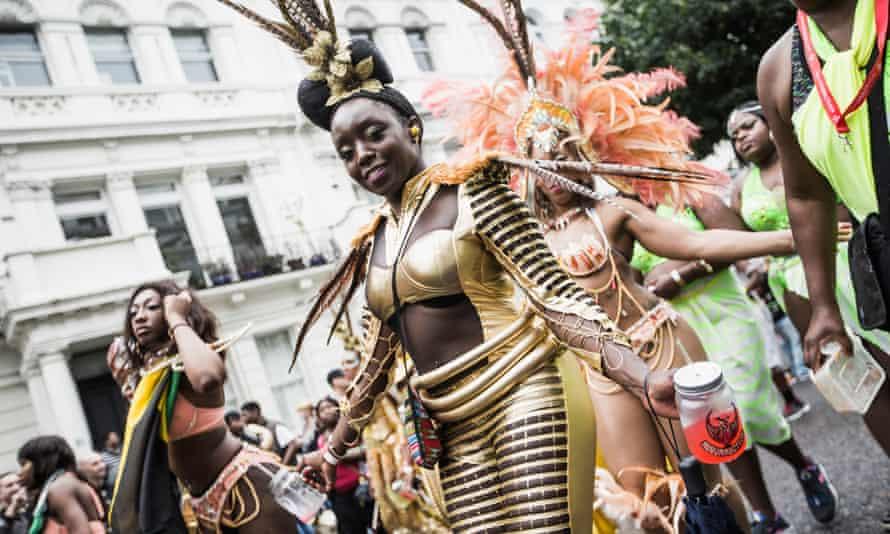 Parade at the Notting Hill Carnival