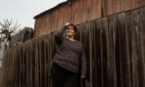 Lisa Townsend has been off heroin for the past three years and is moving forward with her life after years of homelessness and addiction. Photograph by Christopher Hopkins for the Guardian