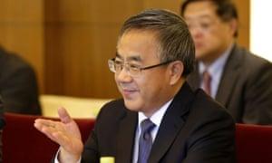 Chinese Vice Premier Hu Chunhua