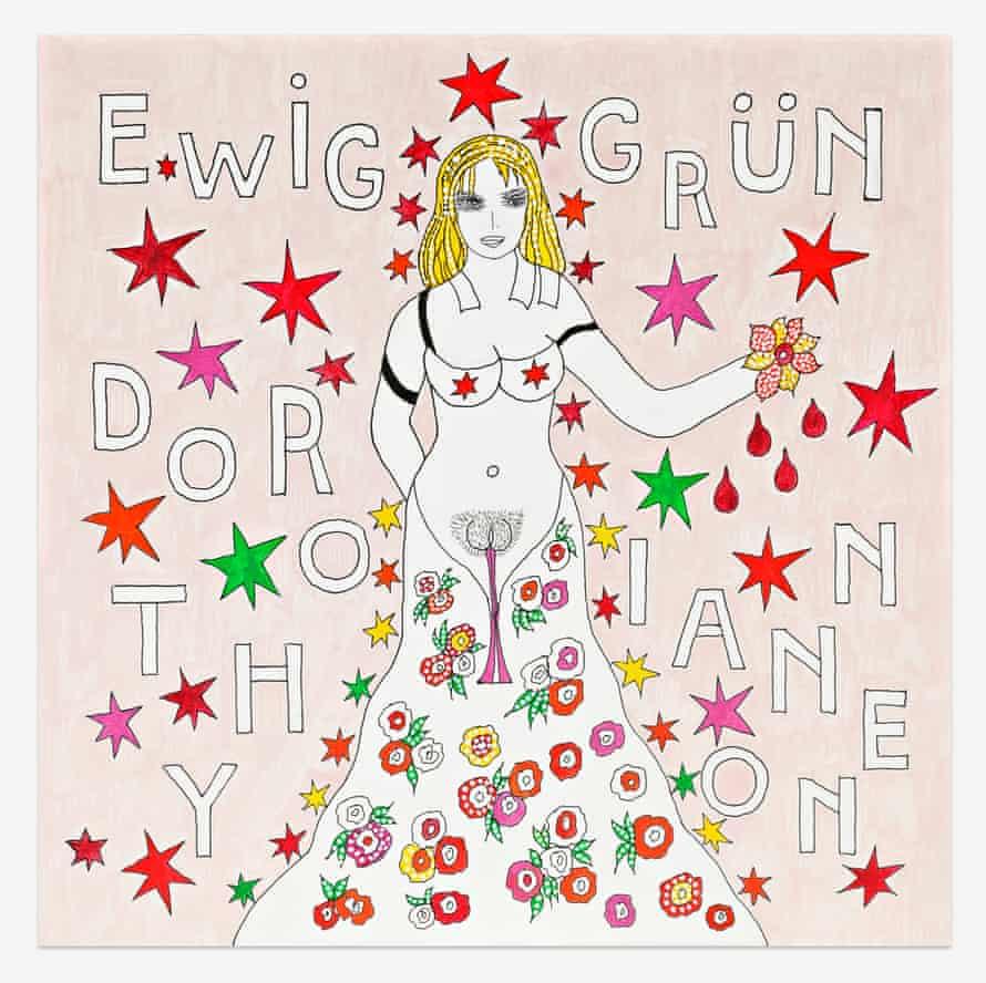 Ewig Grün by Dorothy Iannone.