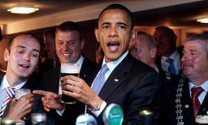 Barack Obama in Moneygall