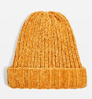 Wear nice knitwearTreat yourself to a warm new hat to give the morning ritual of layering up to brace the cold a shake up. The forecast says you'll need one for a while yet.Hat, Topshop.com, £14.