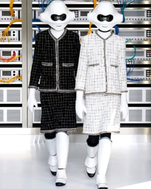 Chanel at Paris fashion week, 4 October 2016.