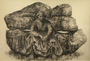 Charles White - General Moses (Harriet Tubman), 1965