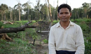 Leng Ouch won the world's leading environmental prize for his activism.