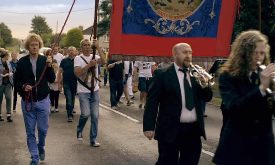 Grayson Perry at the Durham Miners' Gala.