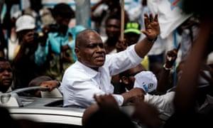 Martin Fayulu campaigns