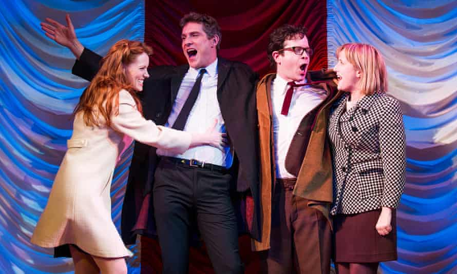 'He can't write a bad female part' … as Mary Flynn in Merrily We Roll Along by Stephen Sondheim, at the Harold Pinter Theatre in London.