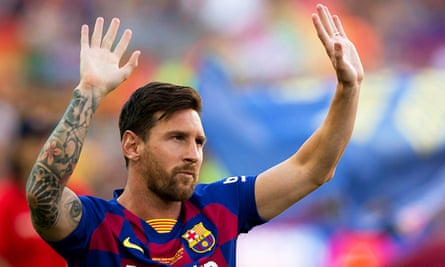 Manchester City will not be alone in trying to lure Lionel Messi, whose salary is understood to be about £500,000 a week.