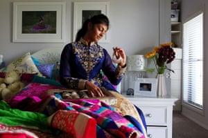 Vineesha Veer selects traditional jewellery to wear