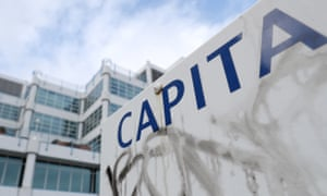 Capita is the company behind the London congestion charge, running the teachers' pension scheme and collecting the BBC licence fee.