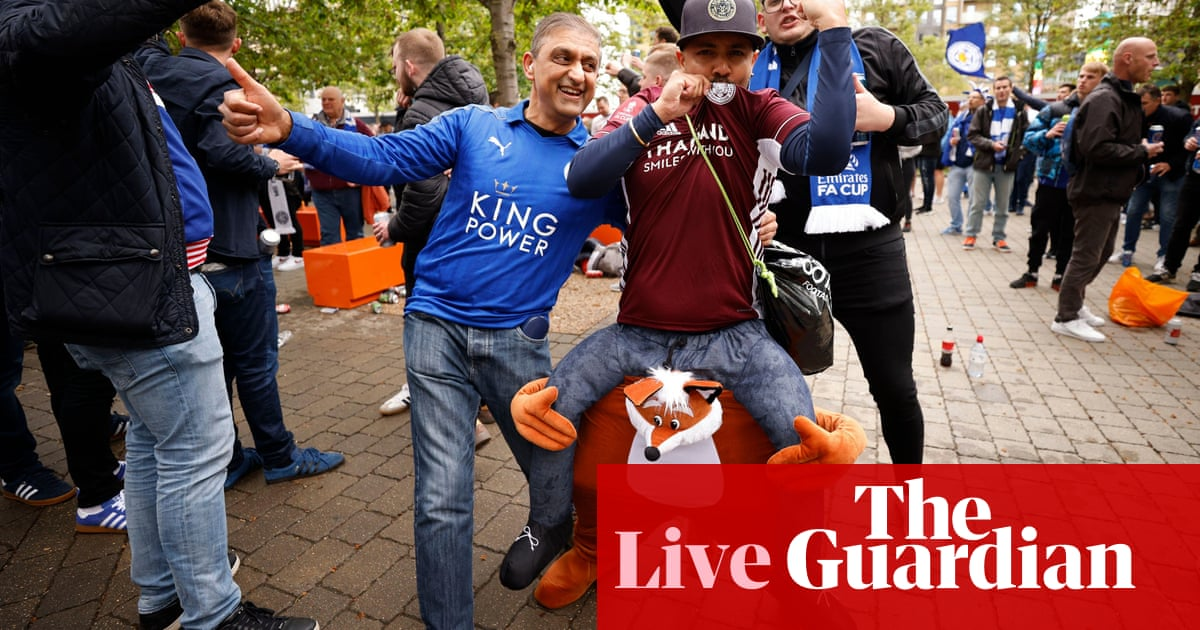Chelsea v Leicester City: FA Cup final – live!
