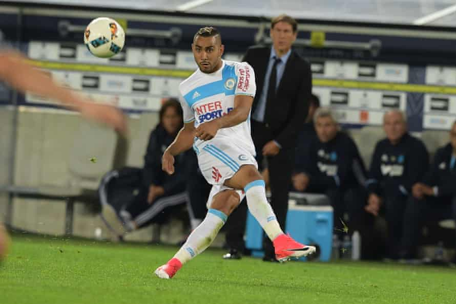 Dimitri Payet in action for Marseille