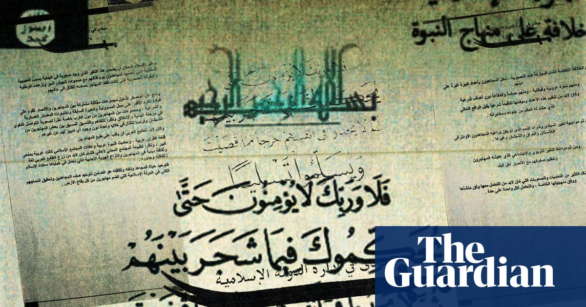 The Isis papers: leaked documents show how Isis is building