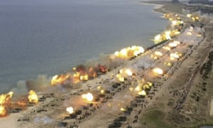 North Korea's drill was said to be its largest ever live-fire drill.