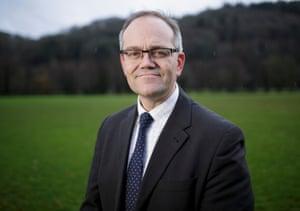 Dr David Davies, a GP in Dunster, Somerset
