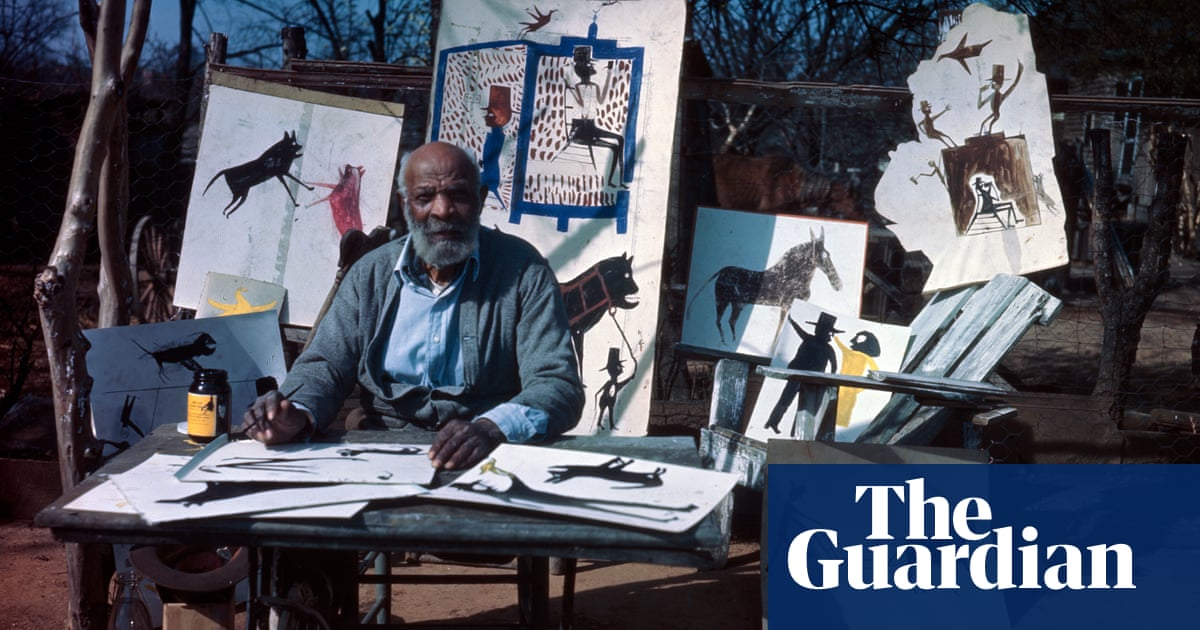 'He's telling a story of his time': how Bill Traylor, born into slavery, became an art titan