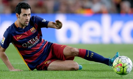 Sergio Busquets said only his wife or Pep Guardiola could talk him into leaving Barcelona.