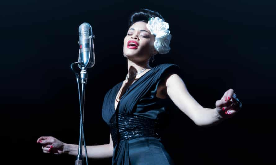 Andra Day as Billie Holiday in The United States Vs Billie Holiday