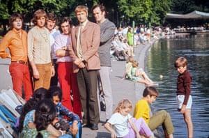 Monty Python team in 1969