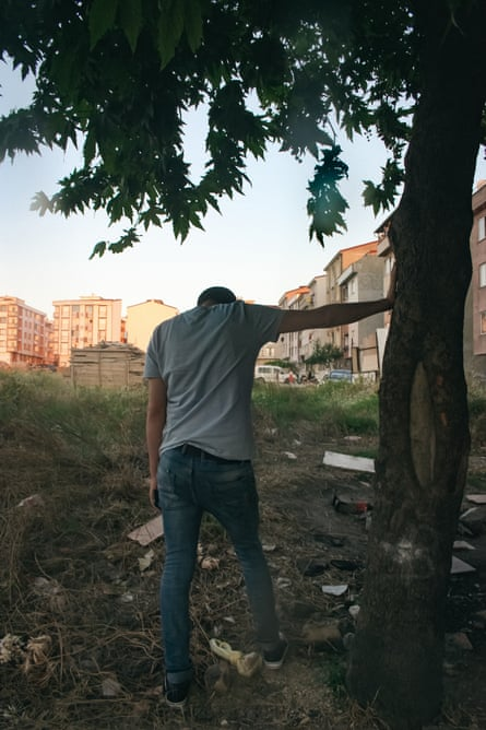 A Syrian refugee in Antakya, Turkey