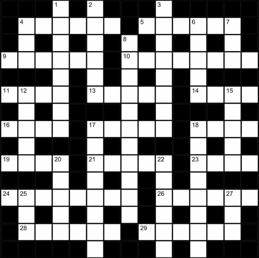 Genius crossword No 214