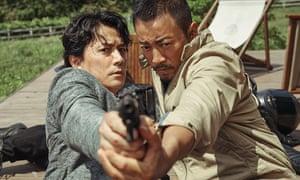 Masaharu Fukuyama and Zhang Hanyu in Manhunt.