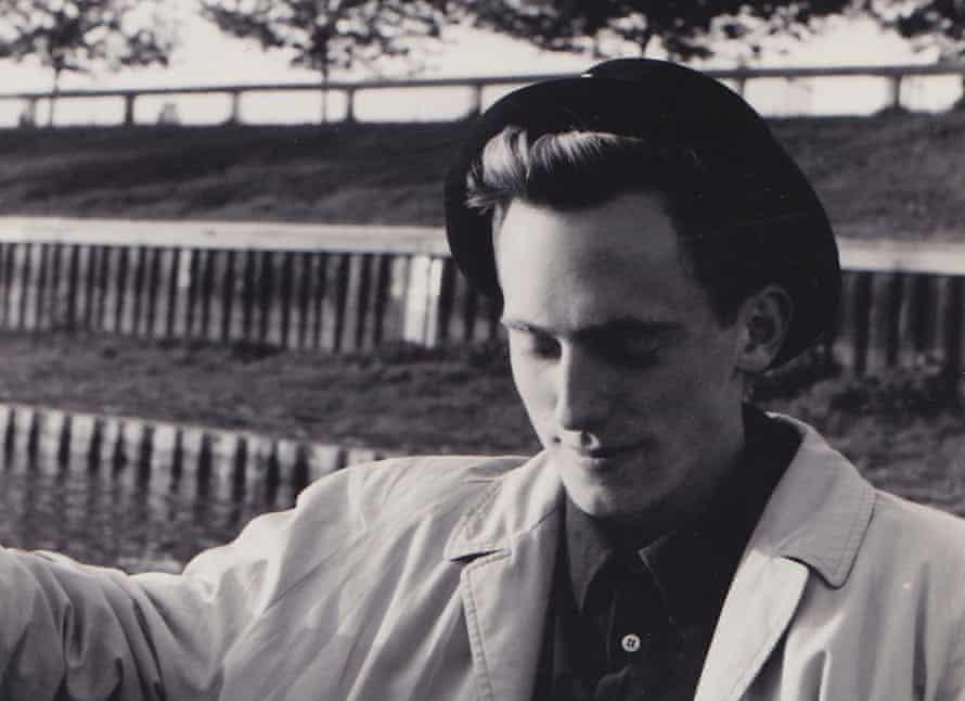 Tom Shone in Hampton Court, 1986.