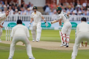 Broad bowls to Wade.