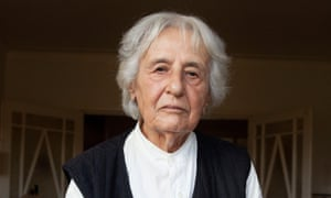 Anita Lasker-Wallfisch, photographed at her home in London, December 2020.