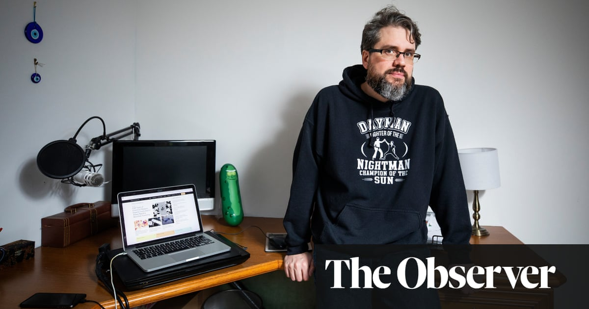 Eliot Higgins: 'People accuse me of working for the CIA'