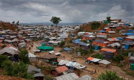 Scenes of the mega camp of Rohingya refugees in Coxs Bazaar, Bangladesh.