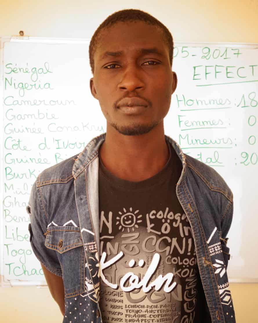 Muhammed Yusuf, 24, from Nigeria was sold to traffickers, tortured and forced to watch a friend die.