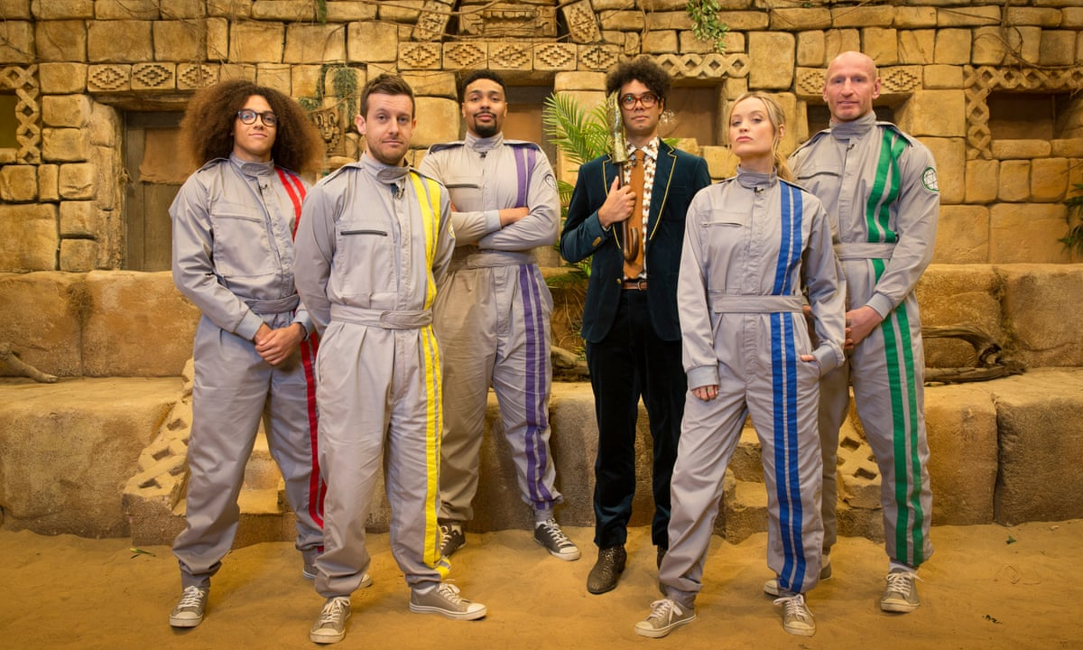 Celebrity Crystal Maze Review Rollicking Fun With Richard Ayoade Television The Guardian