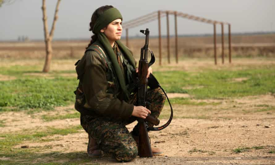 Lucia, a member of the newly formed Syriac Christian female militia