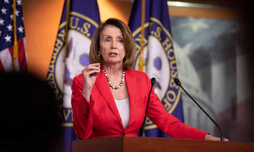 Nancy Pelosi has called the forced separation policy 'barbaric'.