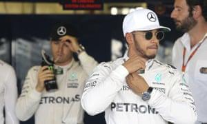 Lewis Hamilton and Nico Rosberg, Mexican Grand Prix