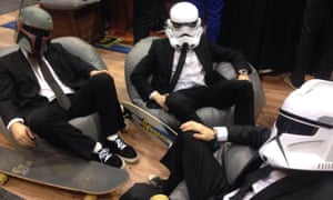 Star Wars storm trooper union meeting at Oz Comic-Con Melbourne.