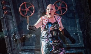 Reaching out: ENO's Hansel and Gretel at the Regent's Park open air theatre in London in June 2019.