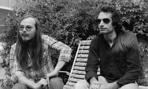 Symbiotic relationship … Walter Becker, left, and Donald Fagen of Steely Dan.
