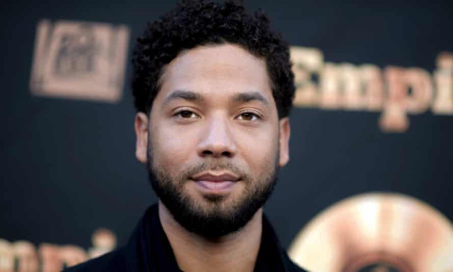 Jussie Smollett. Investigators have now said they believe scratches and bruises on the actor's face were likely self-inflicted.